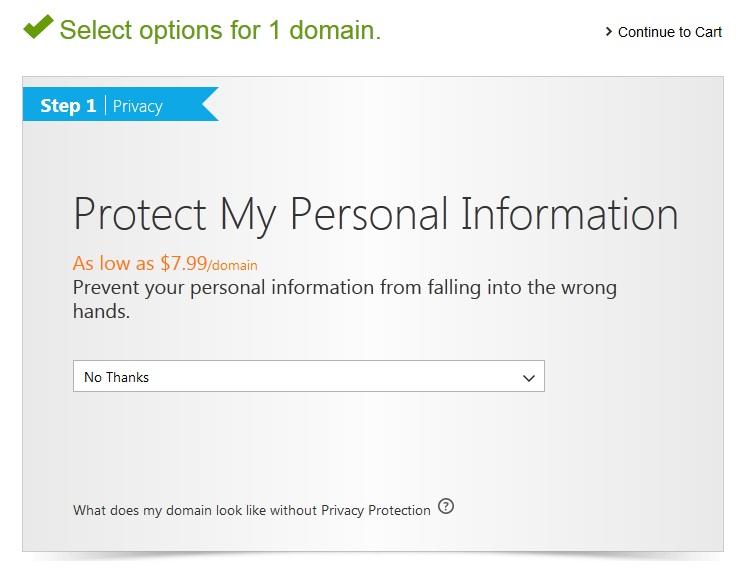 privatnost domena