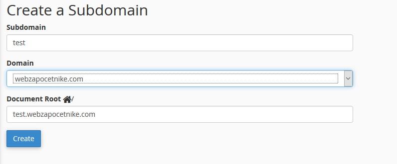 instalacija wordpress