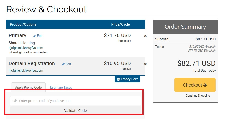 kupovina web hostinga